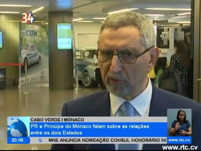 Presidente da República e Príncipe do Mónaco falam sobre as relações entre os do…