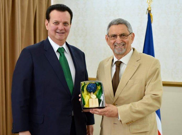 O Presidente da República recebeu, esta manhã, 08, em visita de cortesia, o Ministro…