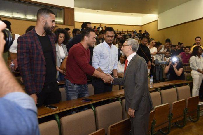 Encontro com estudantes cabo-verdianos e dos PALOP do Instituto Politécnico de Bragança, dia 2,…