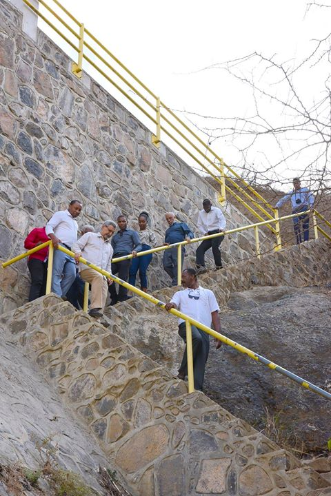 03 /ABRIL /18 – Presidente da República visita barragem de Faveta/Picos