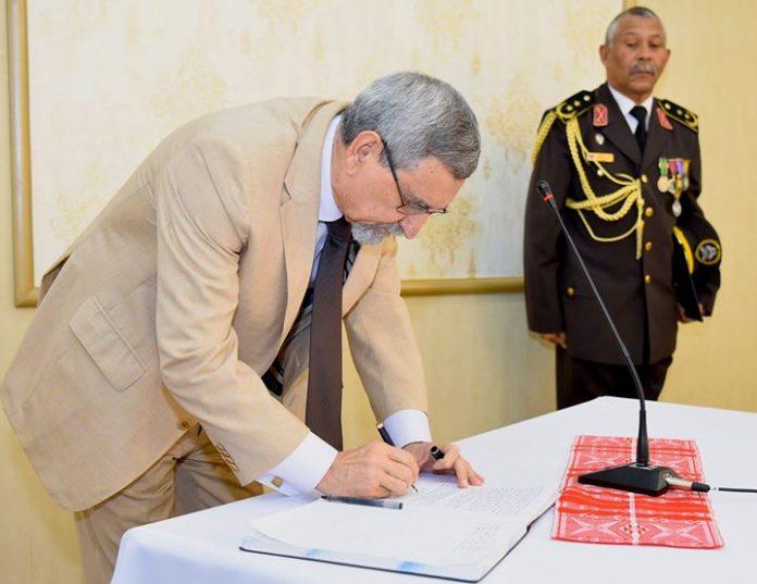 Cerimónia de Tomada de Posse do Conselho Superior da Cruz Vermelha de Cabo Verde