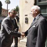 Presidente da República visita Ordem Soberana e Militar de Malta No último dia da…