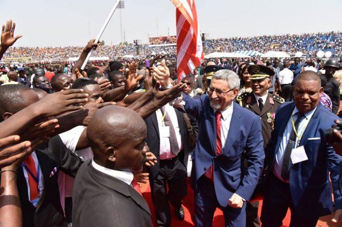 Alguns registos da participação do Presidente da República, na Cerimónia de Posse do Presidente…