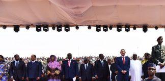 22 /Janeiro/ 18 – Monrovia – Cerimónia de Posse do Presidente eleito, George Manneh…