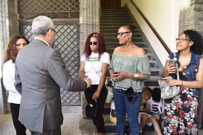 Presidente da República visita comunidade cabo-verdiana de Nápoles Na sua primeira visita à cidade…