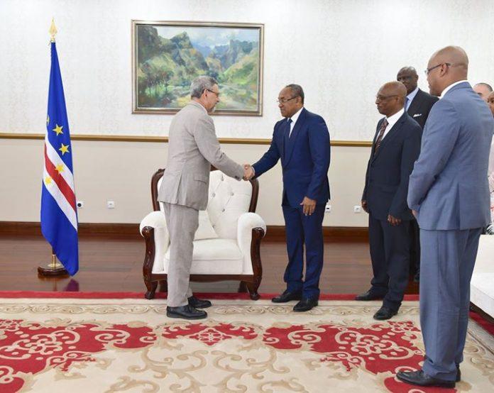 18 | JANEIRO | 2018 – O Presidente da República, Jorge Carlos Fonseca, acompanhado…