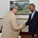 O Presidente da República recebeu, em audiência, o novo Presidente da Academia Cabo-verdiana de…