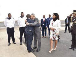 Presidente da República recebe o seu homólogo Moçambicano, Filipe Jacinto Nyusi O Presidente, Jorge…