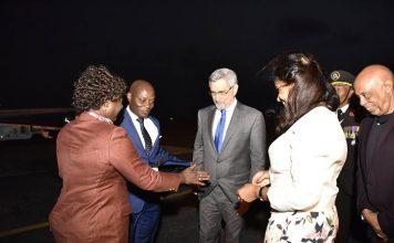 Presidente da República recebe o seu homólogo Guineense, José Mário Vaz. O Presidente Jorge…
