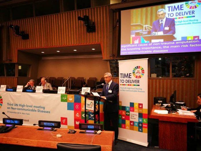 Discurso proferido por Presidente da República, Jorge Carlos de Almeida Fonseca sobre Doenças Crónicas…