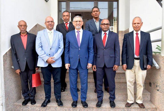 Presidente da República visita o Banco BCN, 05 de Outubro de 2018