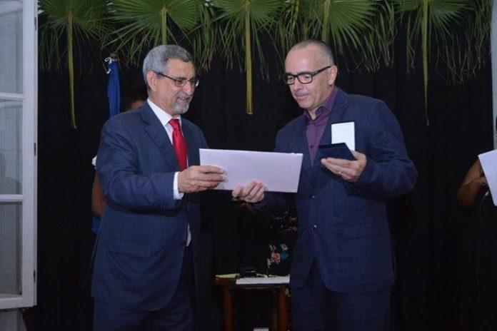Mensagem de felicitações de o Presidente da República, Jorge Carlos Fonseca, dirigida a João…