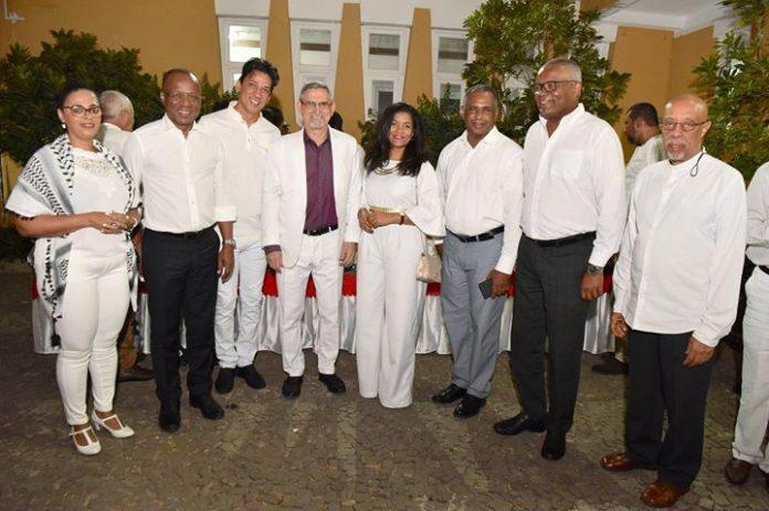 Presidente da República, Jorge Carlos Fonseca, acompanhado das autoridades parlamentares, governamentais, municipais e civis,…