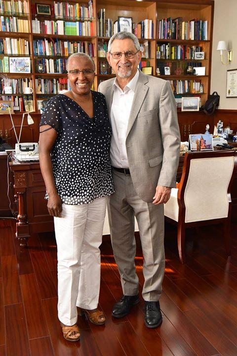 O Presidente da República recebeu, na tarde de 29 de Janeiro, a Drª Maria…