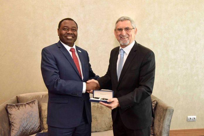 O Presidente da República recebeu, em audiência, o Presidente da Organização da Aviação Civil…