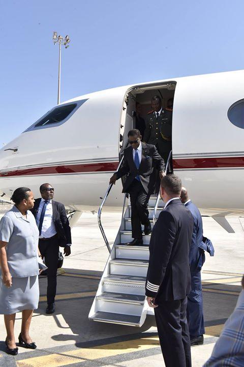 Visita Oficial, a Cabo Verde, de Sua Excelência Senhor Teodoro Obiang Nguema Mbasogo, Presidente…