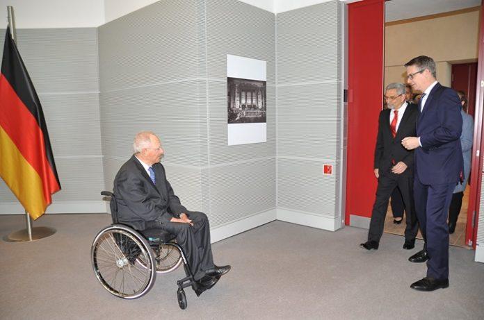 O Presidente Jorge Carlos Fonseca e comitiva recebidos pelo Presidente do Parlamento Alemão (Bundestag),…