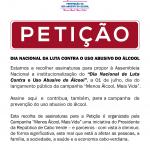 CARTAZ PETIÇÃO_MENOS_ALCOOL_MAIS_VIDA