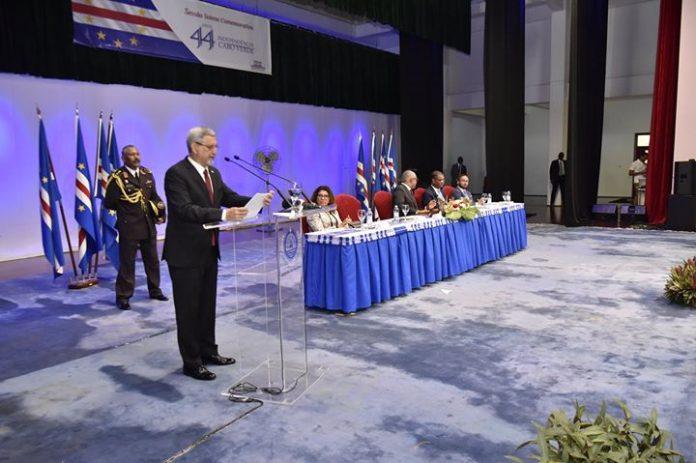 Discurso proferido por o Presidente da República, Dr. Jorge Carlos de Almeida Fonseca, por…
