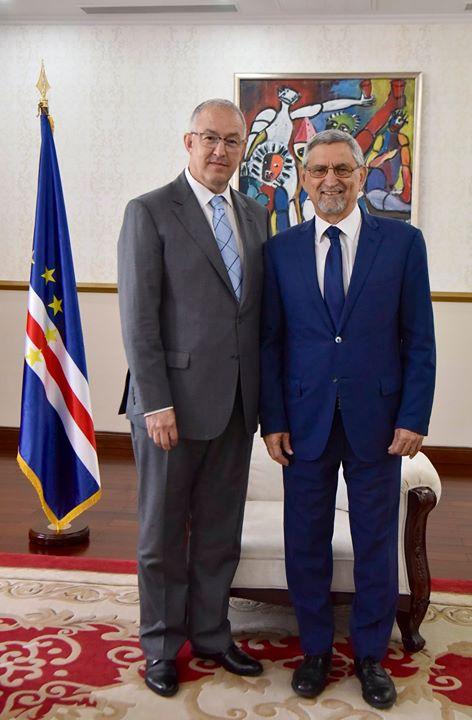O Presidente da República recebeu, em audiência, o Presidente da Câmara Municipal e da…