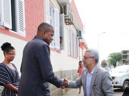 Presidente ds República visita a ilha da Boa Vista. O Presidente Jorge Carlos Fonseca…