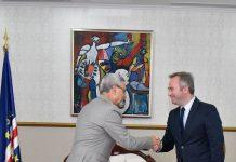 Presidente da República recebeu visita de cortesia do Secretário …