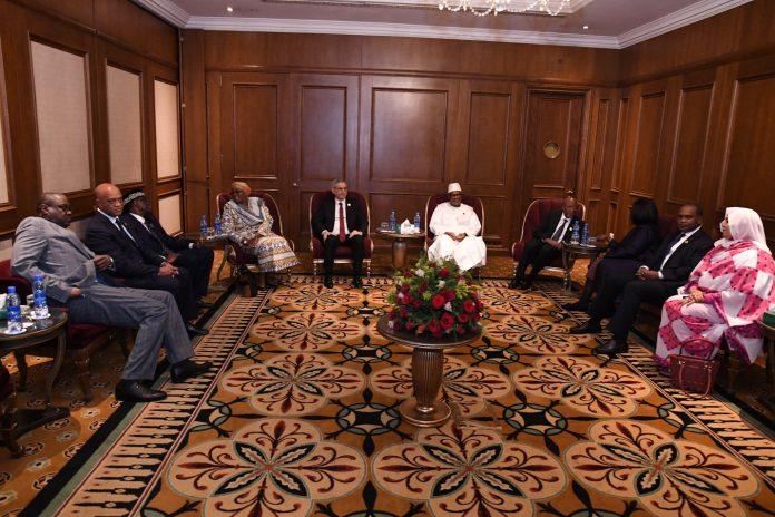 33.ª Cimeira dos Chefes de Estado e de Governo da União Africana. P…