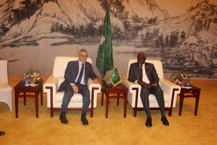Encontro entre o Presidente da República e o Presidente da Comiss&atilde…