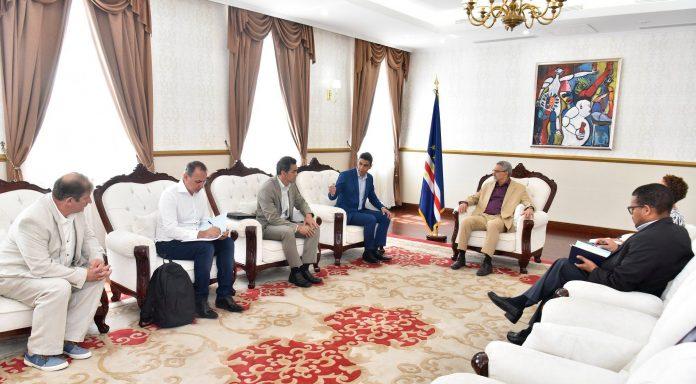 Presidente da República recebeu o Senhor Felipe Ribeiro – Presidente do …
