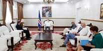 Presidente da República recebeu o Representante da OMS em Cabo Verde, Dr. Hernando A…