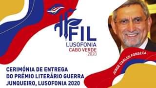 Ver Cerimónia de Entrega do Prémio Literário Guerra Junqueiro, Lusofonia 2020