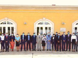 Presidente da República encontra-se com os eleitos municipais saídos das últimas ele…