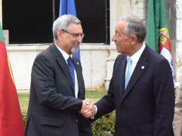 Mensagem de felicitações de Sua Excelência o Presidente da República de Cabo Verde, …