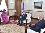 Presidente da República recebe visita de cortesia da  Ministra senegalesa dos Ne