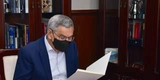 Presidente da República recebe o Primeiro-ministro, José Ulisses Correia e Silva