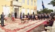 Cerimónia de empossamento do Governo da X legislatura.