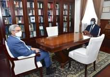 Presidente da República recebeu, em audiência, o novo Presidente da Assembleia N