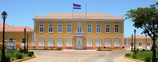 Mensagem de Sua Excelência o  Presidente da República, Jorge Carlos Fonseca, dir