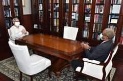 Presidente da República recebe, em audiência, o Procurador Geral da República, L