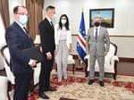 Presidente da República recebeu visita de cortesia do Ministro húngaro dos Negóc